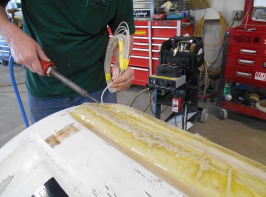 technician welding