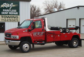 K&J towing and wrecker services
